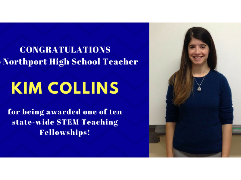 Northport High School Science Teacher Selected for New York State STEM Teaching Fellowship
