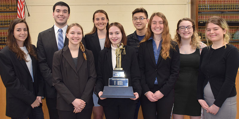 Mock Trial County Champions photo