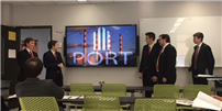 High School Virtual Enterprise Team Presents at Island-Wide Conference photo
