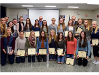 Suffolk County Champs Recognized for Win photo