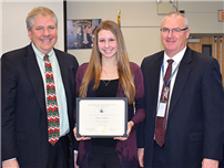 December Board of Education Recognitions photo