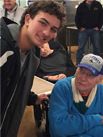 Northport Football Team Spend Saturday with Veterans photo 3